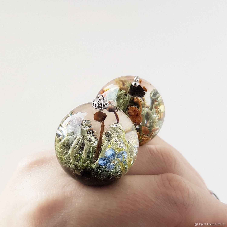 Pendant with micro world, Pendants, Oktyabrsky,  Фото №1