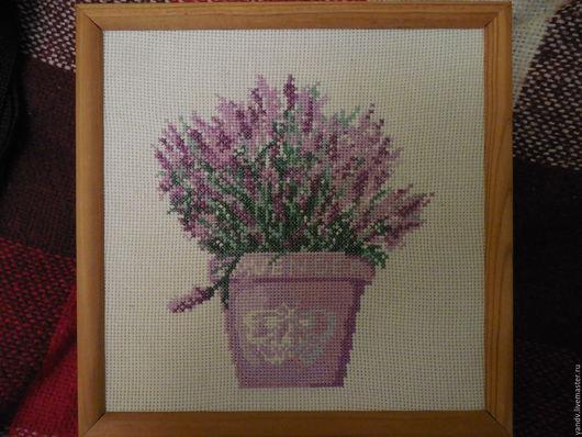 Картины цветов ручной работы. Ярмарка Мастеров - ручная работа. Купить Лаванда. Handmade. Комбинированный, лаванда, лавандовый цвет