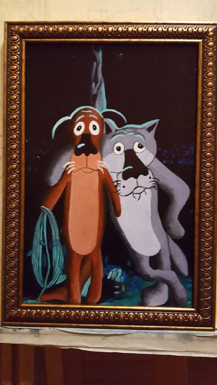 Картинка собаки из мультика жил был пес