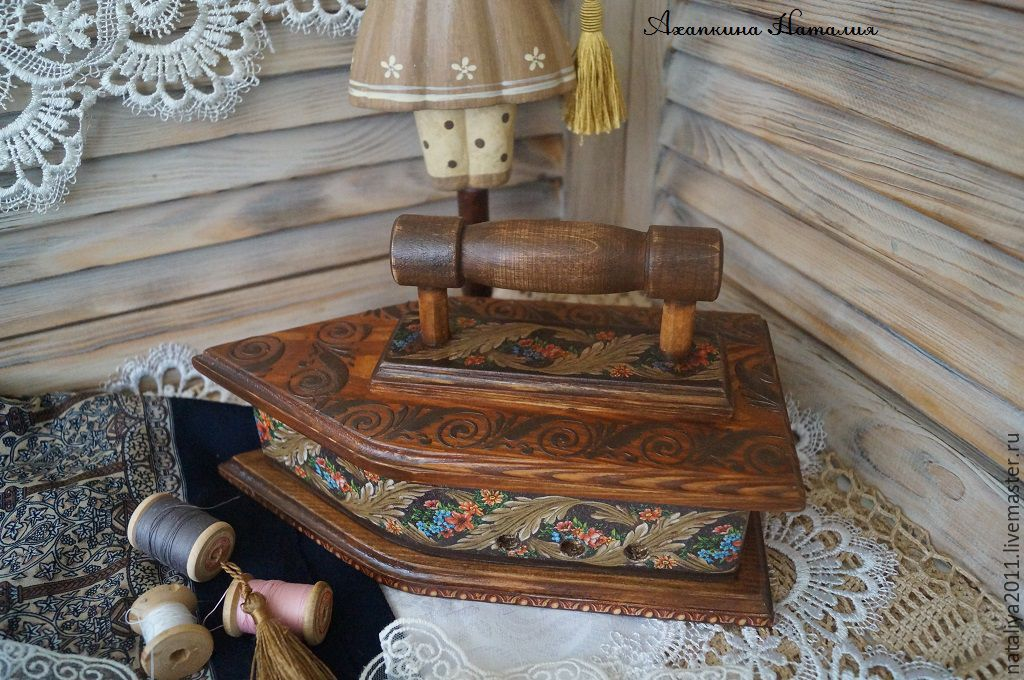 'Russian style'-the box-iron, Box, Moscow,  Фото №1