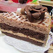 """Косметика ручной работы. Ярмарка Мастеров - ручная работа Мыло """"Шоколадный тортик"""". Handmade."""