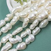 Материалы для творчества handmade. Livemaster - original item 1 PCs. Natural pearls. 11-13*15-20 mm baroque (5072). Handmade.