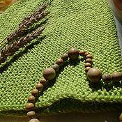 Аксессуары ручной работы. Ярмарка Мастеров - ручная работа вязаная шапка Майская зелень. Handmade.