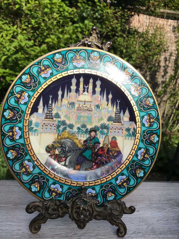 Plates 'Russian fairy tales', Villeroy&Boch, Germany, Vintage Souvenirs, Arnhem,  Фото №1