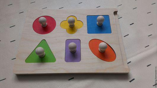 Развивающие игрушки ручной работы. Ярмарка Мастеров - ручная работа. Купить Развивающая игрушка Первый вкладыш-первые слова.. Handmade.