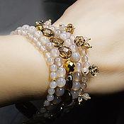 Украшения handmade. Livemaster - original item Bracelet Natural stones London. Handmade.