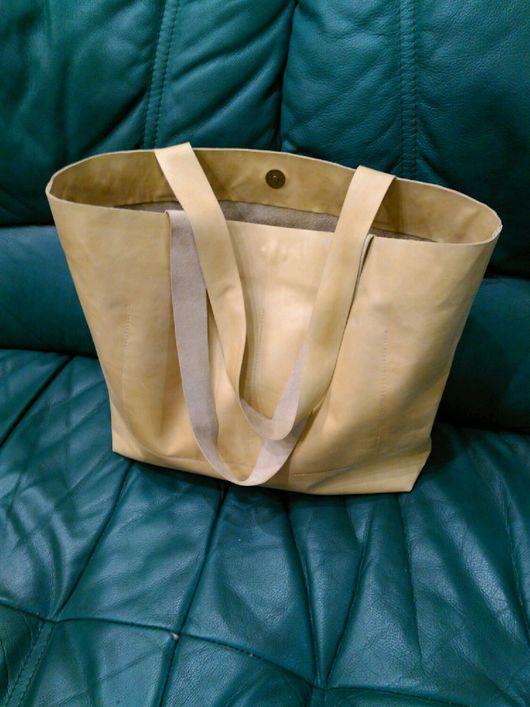 Женские сумки ручной работы. Ярмарка Мастеров - ручная работа. Купить Кожаная сумка. Handmade. Сумка шопер