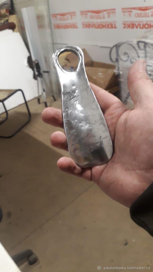 Forged pocket Shoe spoon, Shoe accessories, Rybinsk,  Фото №1