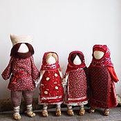"""Куклы и игрушки ручной работы. Ярмарка Мастеров - ручная работа Народные русские куклы """"Семья"""". Handmade."""
