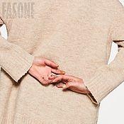 """Одежда ручной работы. Ярмарка Мастеров - ручная работа Свитер бежевый """"Soft"""" Бежевый свитер Бежевый свитер Бежевый. Handmade."""