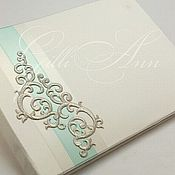 Свадебный салон ручной работы. Ярмарка Мастеров - ручная работа Книга свадебных пожеланий Mint Queen. Handmade.