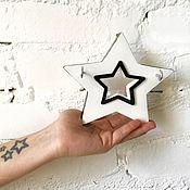 Для дома и интерьера ручной работы. Ярмарка Мастеров - ручная работа Ключница настенная Звезда. Handmade.