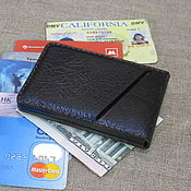 Сумки и аксессуары handmade. Livemaster - original item Cardholder-wallet-clip for 6 cards and several bills.. Handmade.
