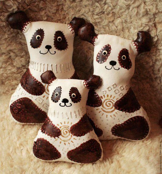 Ароматизированные куклы ручной работы. Ярмарка Мастеров - ручная работа. Купить Панда кофейно-ванильный. Handmade. Белый, мишка, ваниль