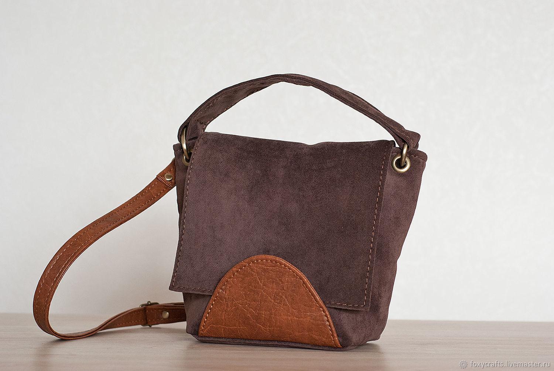 Текстильная сумка UNA dark chocolate, Классическая сумка, Москва,  Фото №1