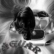 Иллюстрации ручной работы. Ярмарка Мастеров - ручная работа автомобиль хищник скорость. Handmade.