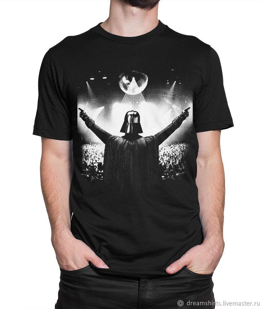 "Футболка с принтом ""Darth Vader Party"", T-shirts, Moscow,  Фото №1"
