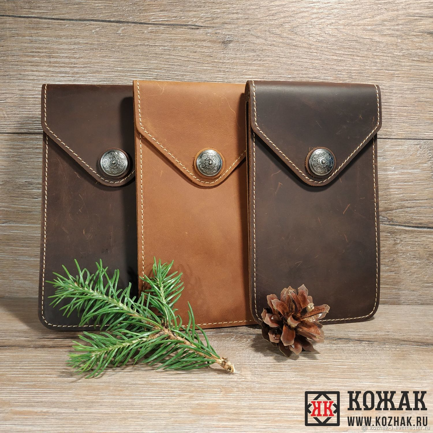 Covers: phone case for leather, Classic Bag, Arkhangelsk,  Фото №1
