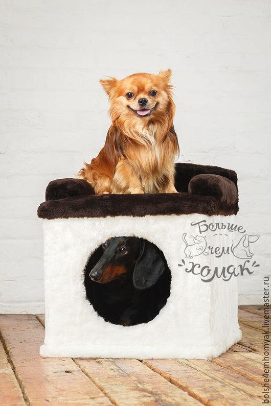 """Аксессуары для собак, ручной работы. Ярмарка Мастеров - ручная работа. Купить Будка-домик для собак """"Нафаня"""". Handmade. Домик для собаки"""