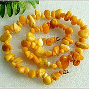 handmade. Livemaster - original item Beads Retro amber. Handmade.