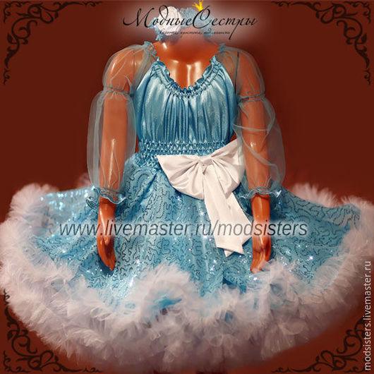 """Одежда для девочек, ручной работы. Ярмарка Мастеров - ручная работа. Купить Детское платье """"Королева"""" с рукавом Арт. 285. Handmade."""