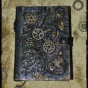 """Блокноты ручной работы. Ярмарка Мастеров - ручная работа блокнот  """"СТИМПАНК"""". Handmade."""