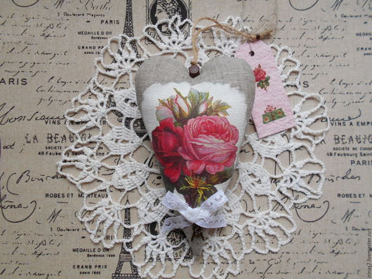 Подвески ручной работы. Ярмарка Мастеров - ручная работа. Купить Сердце Английской розы. Handmade. Бледно-розовый