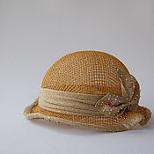 """Аксессуары ручной работы. Ярмарка Мастеров - ручная работа Дамская шляпка """"Звездная пыль"""". Handmade."""