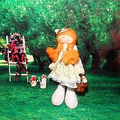 Куклы и игрушки ручной работы. Ярмарка Мастеров - ручная работа Кукла Веснушка. Handmade.