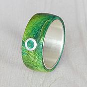 Украшения handmade. Livemaster - original item Ring with emerald.. Handmade.