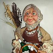 Куклы и игрушки ручной работы. Ярмарка Мастеров - ручная работа Старушка -травница. Handmade.