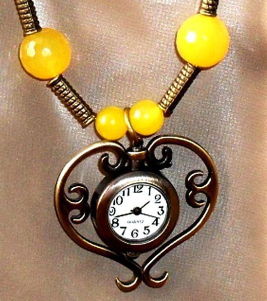 Колье, бусы ручной работы. Ярмарка Мастеров - ручная работа. Купить Горошины для принцессы. Натуральные камни, часы.. Handmade.