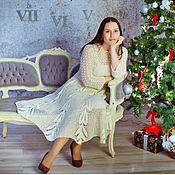 """Одежда ручной работы. Ярмарка Мастеров - ручная работа Вязаное платье """" 5 минут """". Handmade."""