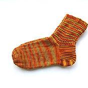 Аксессуары ручной работы. Ярмарка Мастеров - ручная работа носочки вязаные женские купить. Handmade.
