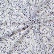 Материалы для творчества ручной работы. Ярмарка Мастеров - ручная работа Шелк-Лен Фиолетовый Лепесток. Handmade.