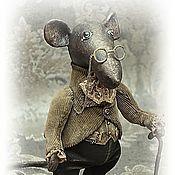 Куклы и пупсы ручной работы. Ярмарка Мастеров - ручная работа Наум.  Добрый мудрый крыс.. Handmade.