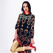"""Одежда handmade. Livemaster - original item Dress """"Wealth of Ikat fabric """". Handmade."""