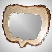 Для дома и интерьера ручной работы. Ярмарка Мастеров - ручная работа Зеркало в раме из тополя. Handmade.