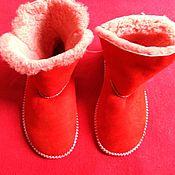 Обувь ручной работы handmade. Livemaster - original item Homemade ugg boots from Mouton for 37 times. Handmade.