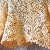 Одежда ручной работы. Ярмарка Мастеров - ручная работа Воздушная кофточка в стиле бохо. Handmade.