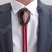 Аксессуары handmade. Livemaster - original item Bolo tie harness made of beads