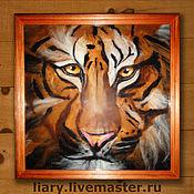 Картины и панно ручной работы. Ярмарка Мастеров - ручная работа Дикие кошки. Handmade.