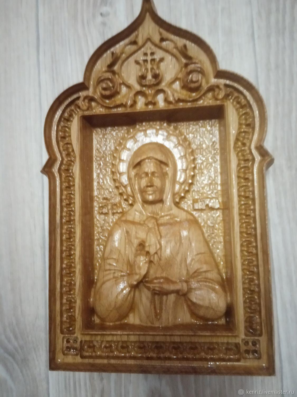 Икона Матрона Московская, Иконы, Началово,  Фото №1