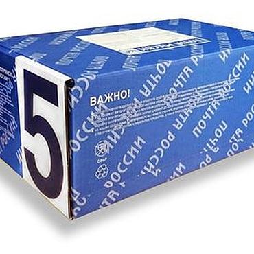 Материалы для творчества ручной работы. Ярмарка Мастеров - ручная работа Почтовая коробка Б №5. Handmade.