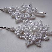 Украшения handmade. Livemaster - original item Earrings wedding