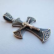 Украшения handmade. Livemaster - original item Cross silver mens. Handmade.