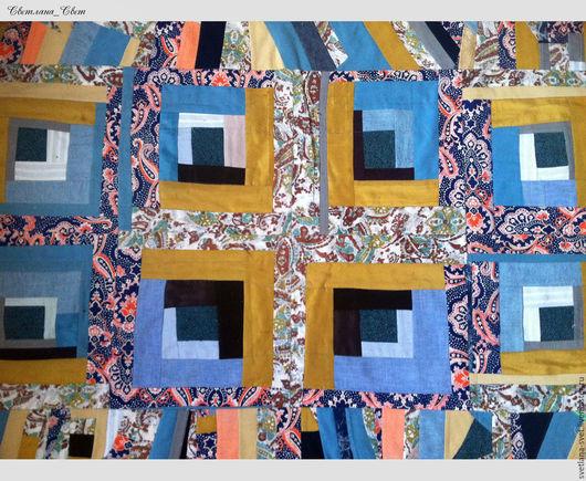 """Текстиль, ковры ручной работы. Ярмарка Мастеров - ручная работа. Купить Коврик пэчворк   """"Лоскутная мозаика"""" для кухни, спальни или прихожей. Handmade."""