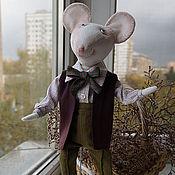 Куклы и игрушки ручной работы. Ярмарка Мастеров - ручная работа мышь Ричард. Handmade.