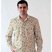 Одежда ручной работы. Ярмарка Мастеров - ручная работа Рубашка РБм-0004. Handmade.