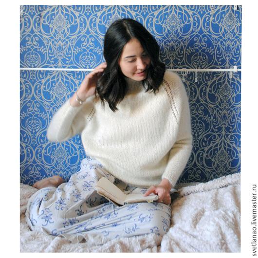 Мохеровые пуловеры доставка